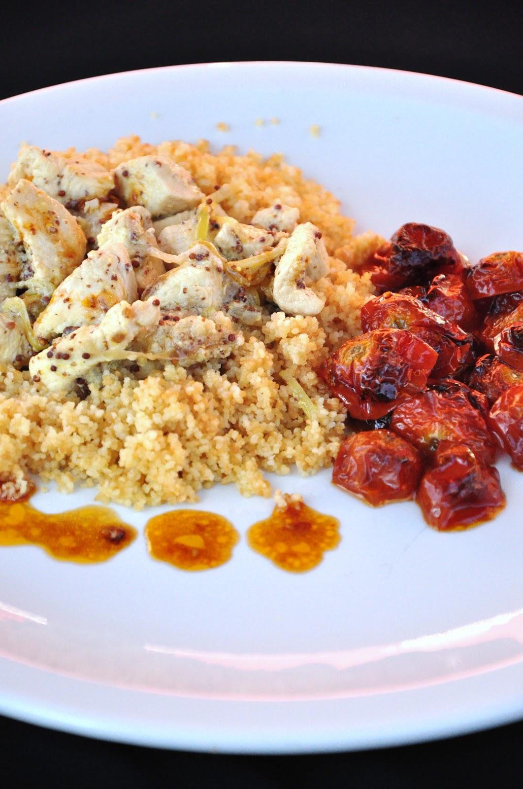 Cous cous con pollo alla senape essenza in cucina for Cucinare cous cous