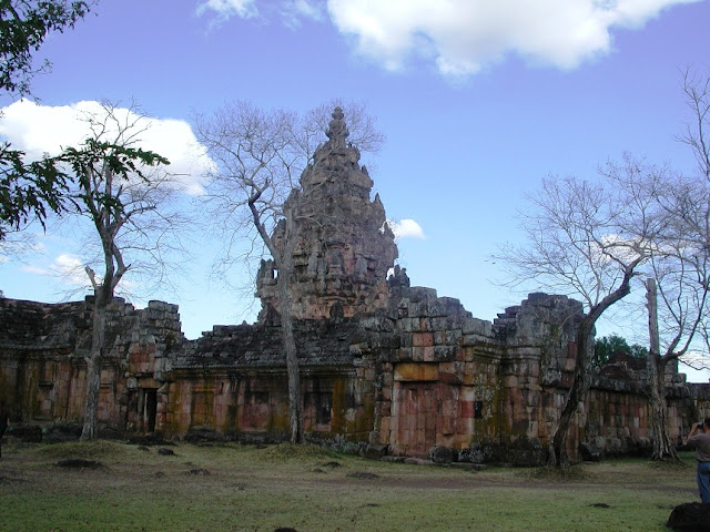 Ancient Khmer Temples in Thailand
