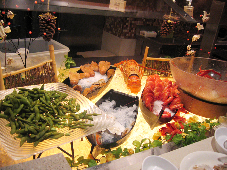 seafood section