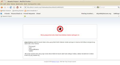 Blokir Konten Pornografi Dengan DNS Nawala di Linux