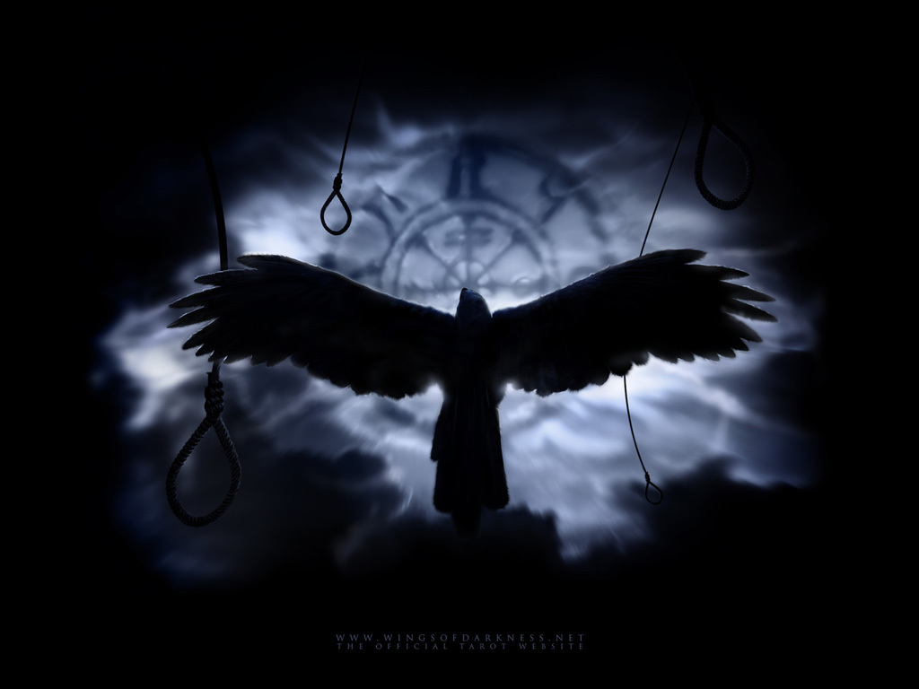 Evil crow wallpaper - photo#49