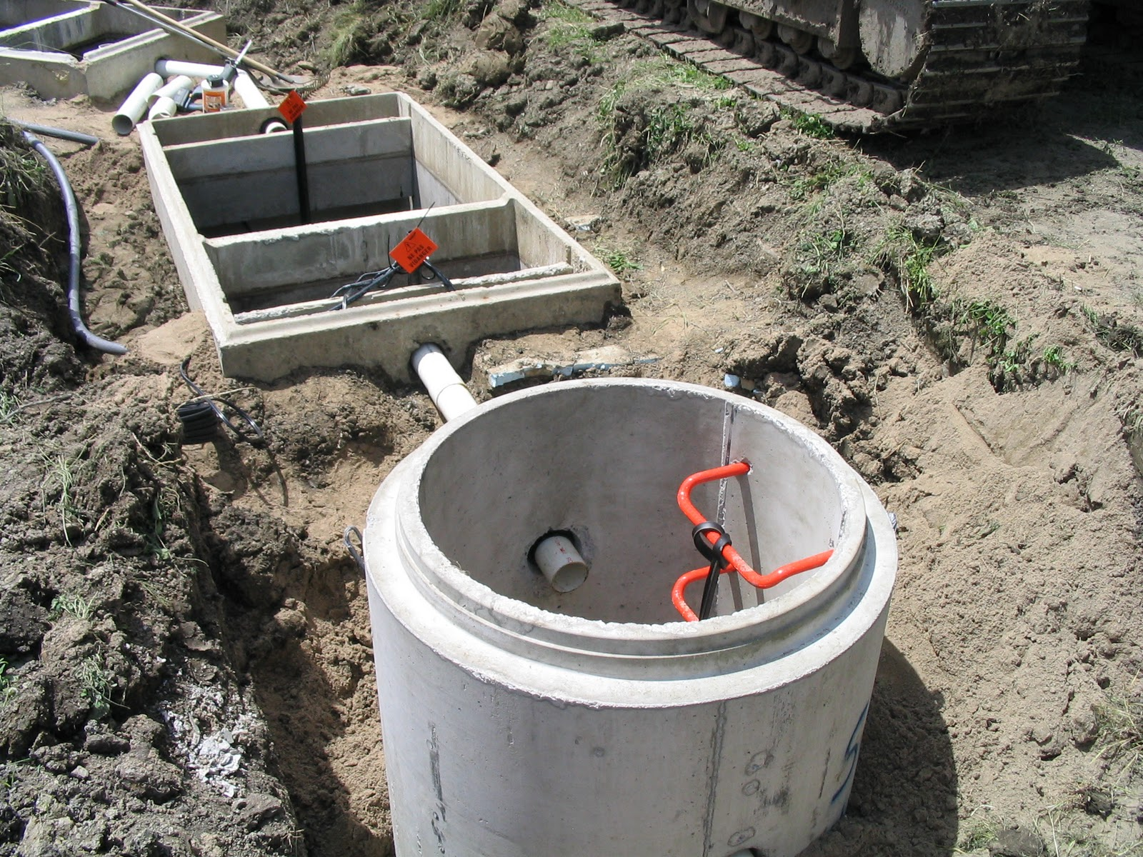 Shim Farm It All Starts With The Septic Tank