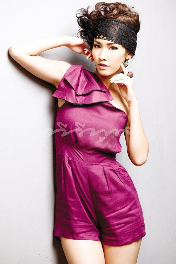 Asian Cute Idol Min - Pichaya, Tv Pool Magazine-5568