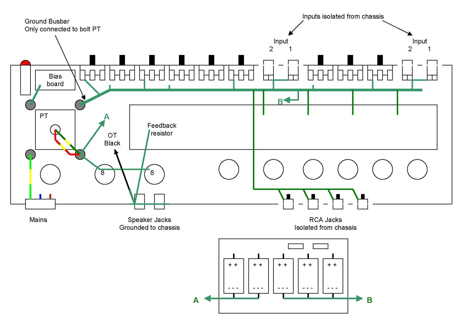 Fender Deluxe Reverb Blackface Build The Secret Tweaker Pad Special Tele Pickup Wiring Diagram