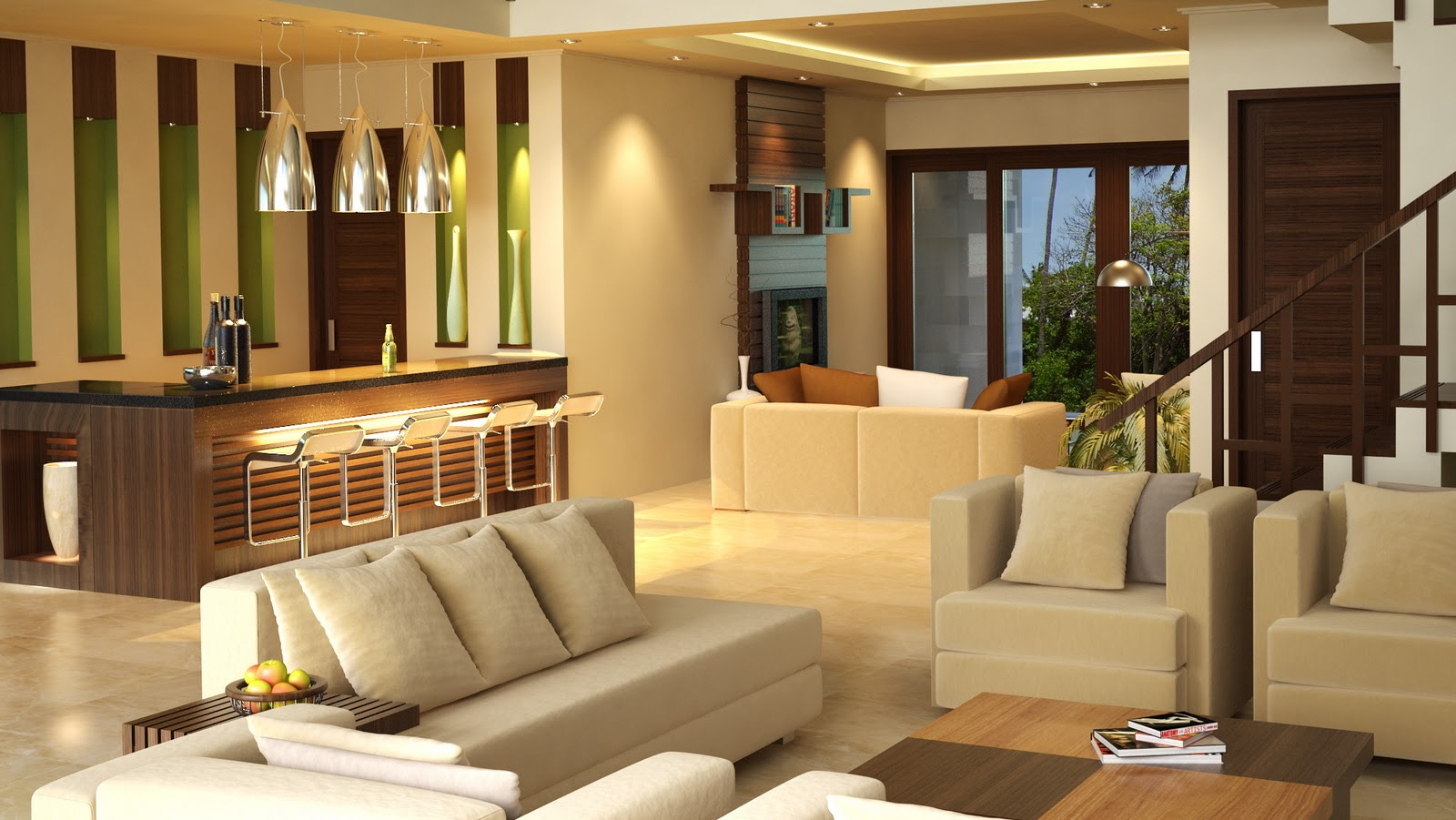 Gambar Desain Interior Rumah Minimalis Type 36 120 Terbaru Desain