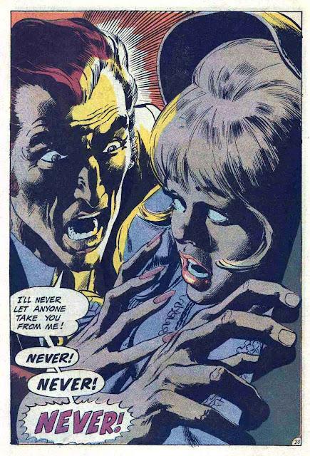 Phantom Stranger v2 #4 - 1960s dc horror comic book page art by Neal Adams