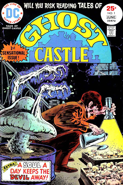 Tales of Ghost Castle v1 #1, 1975 dc bronze age horror comic book cover