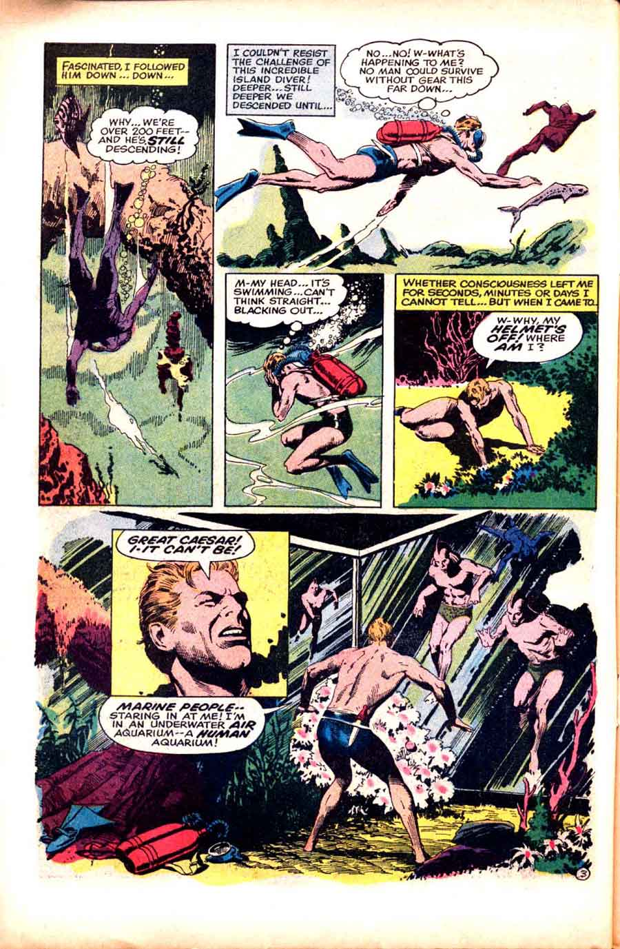 Alarming Adventures v1 #2 harvey 1960s silver age comic book page art by Al Williamson