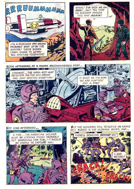Mars Patrol Total War v1 #1 - Wally Wood gold key war silver age 1960s comic book page art