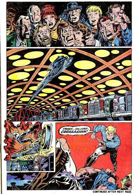 Marvel Spotlight v1 #5 Ghost Rider marvel comic book page art by Mike Ploog