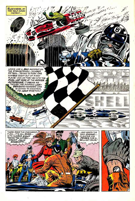 Nick Fury Agent of Shield v1 #1 1960s marvel comic book page art by Jim Steranko