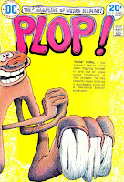 Plop v1 #5 dc bronze age comic book cover art by Basil Wolverton