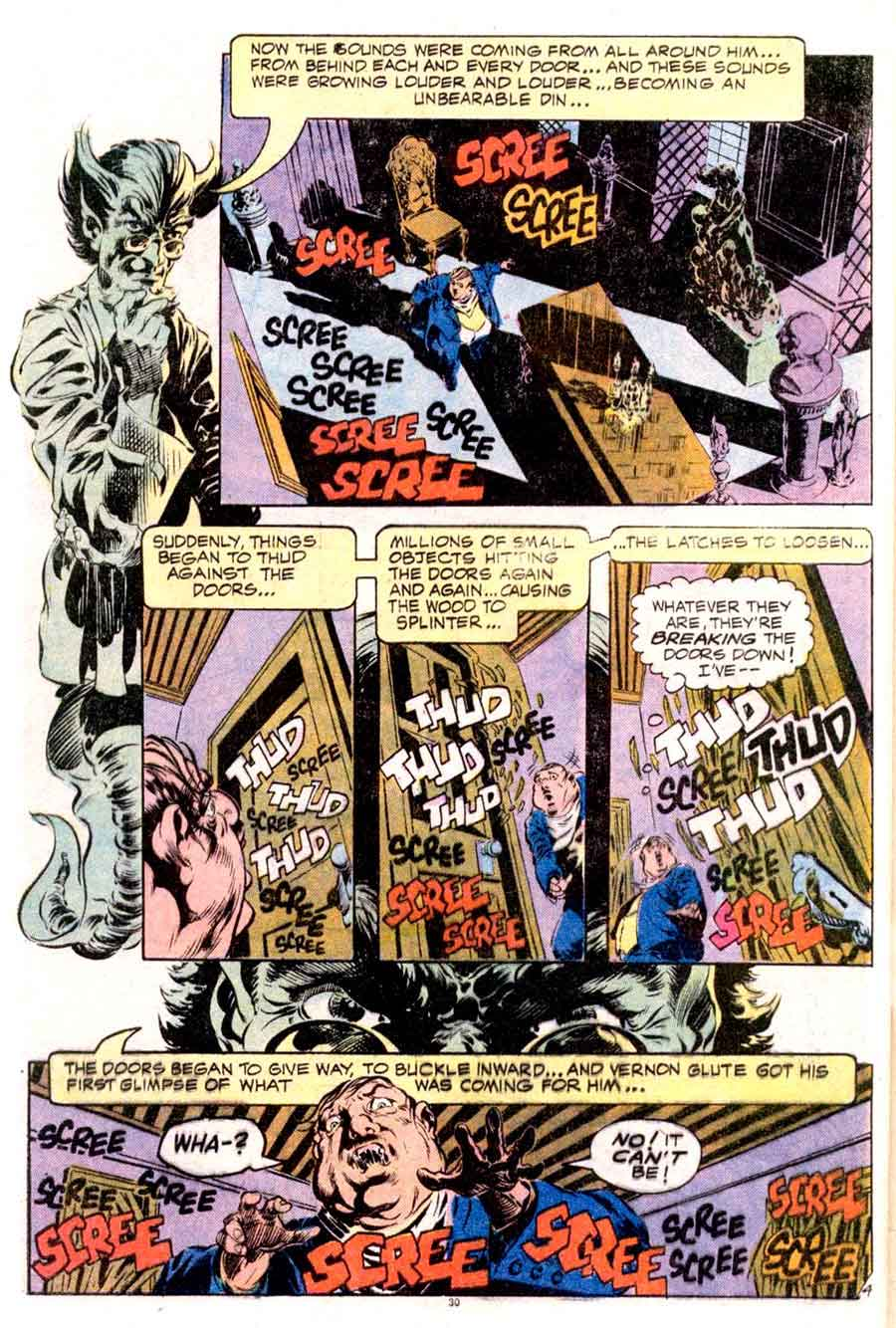 Plop v1 #1 dc 1970s bronze age comic book page art by Bernie Wrightson