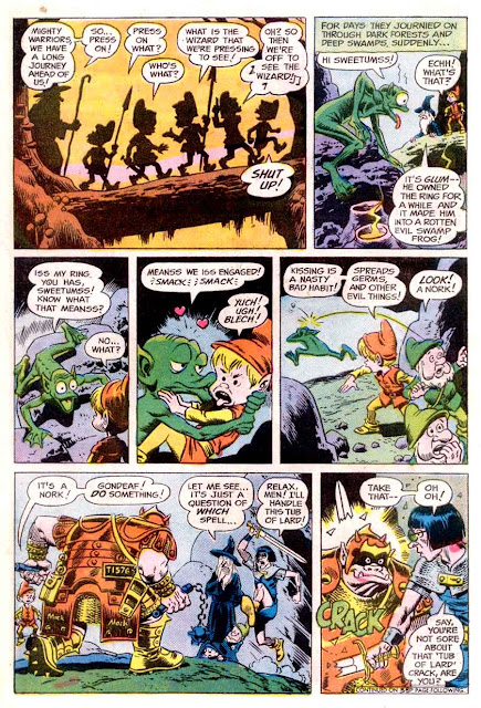 Plop v1 #23 dc bronze age comic book page art by Wally Wood