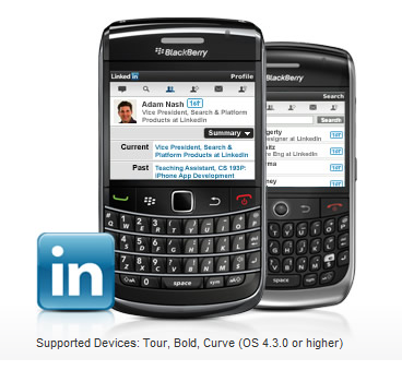 LinkedIn Blackberry phone.JPG