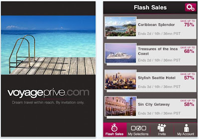 Voyage Prive iPhone App