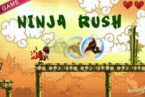Ninja rush android game