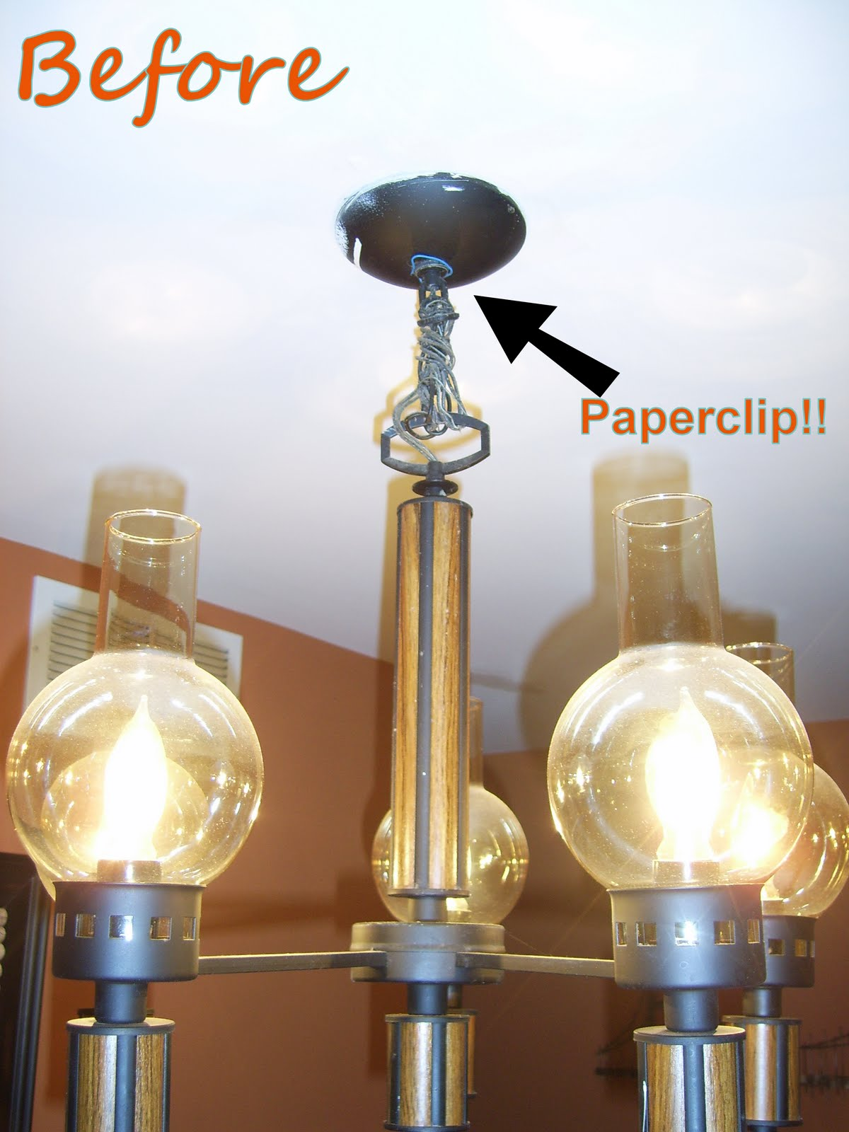 Remodelaholic Diy Wine Glass Chandelier Guest Project