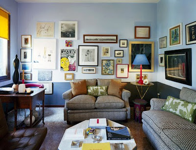 I Totally Love This Fun Living Room Think Is The Look Am Going For Wall Color Below Benjamin Moore Of Course
