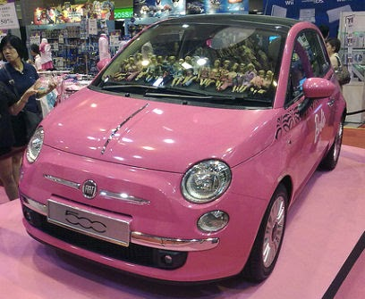 5ooblog fiat 5oo new fiat 500 barbie. Black Bedroom Furniture Sets. Home Design Ideas