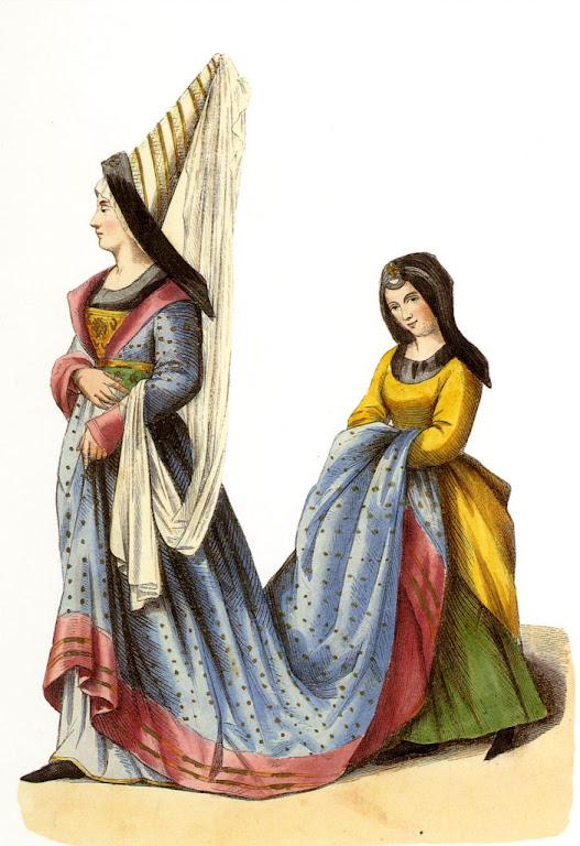 Nobre francesa no século XV