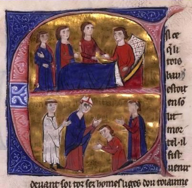 Morte de Balduino IV, o rei, herói e mártir de Jerusalém