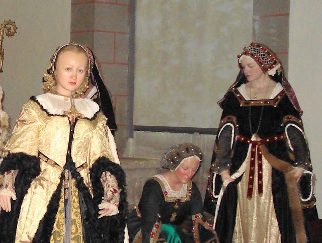 Langeais, Ana de Bretanha e damas de companhia, castelos medievais