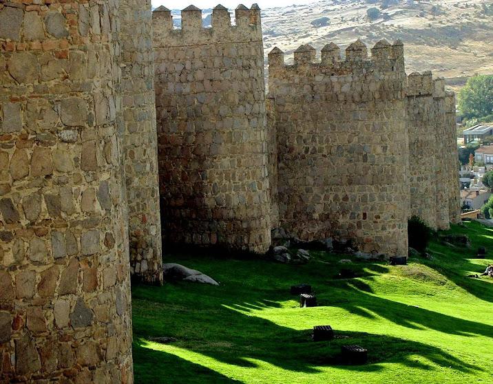 Muralhas da cidade de Ávila, Espanha