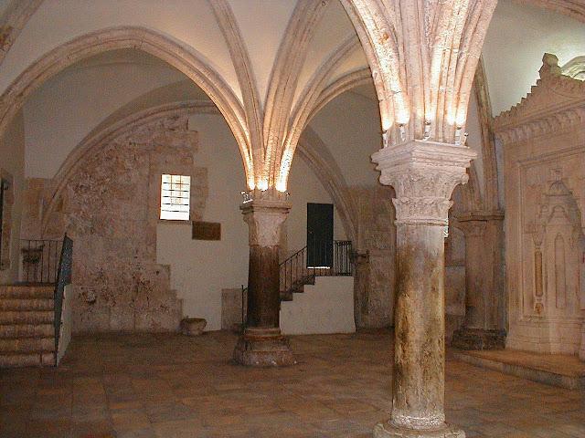 Cenáculo, igreja gótica dos Cruzados. Ciência confirma a Igreja