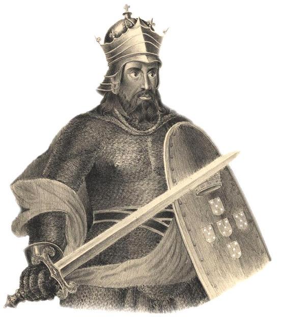 Dom Afonso Henriques, fundador do reino de Portugal