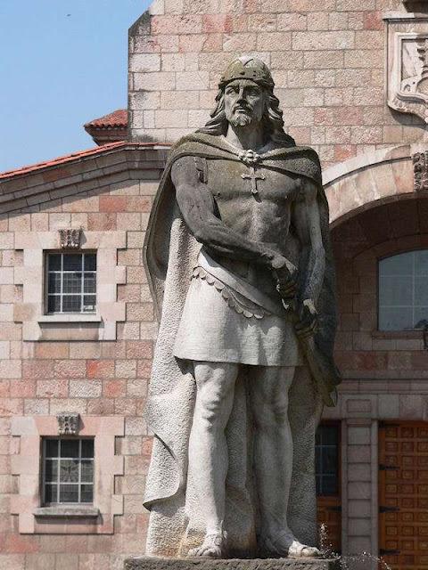 Don Pelayo, Cangas de Onís