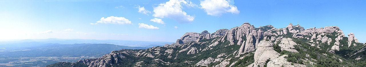 Montserrat, panoramica