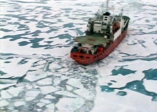Catastrofismo ecológico midiático a respeito do  Ártico