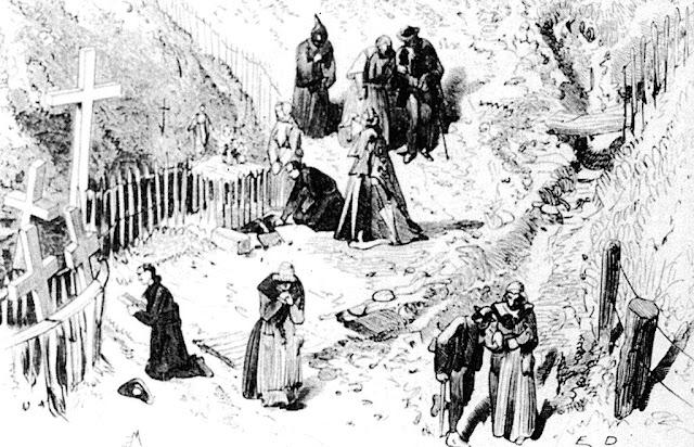 La Salette, surto de penitentes