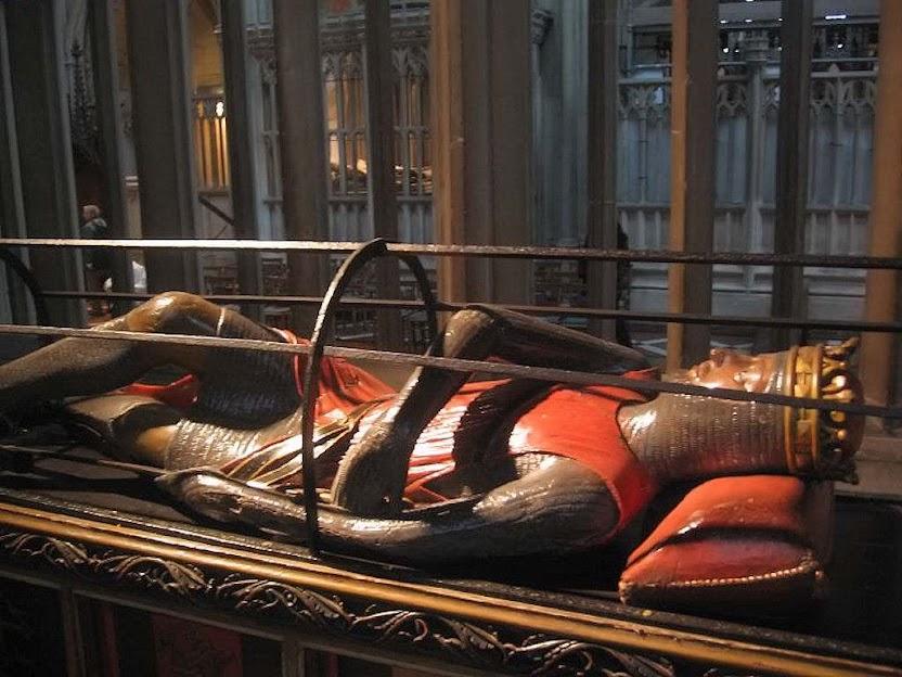 Túmulo de Roberto de Normandia, catedral de Gloucester