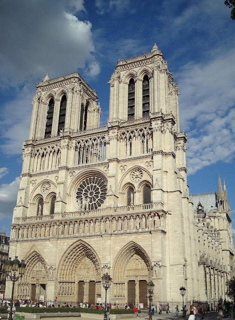 Notre Dame, fachada