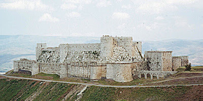 Crack des Chevaliers, fortaleza cruzada