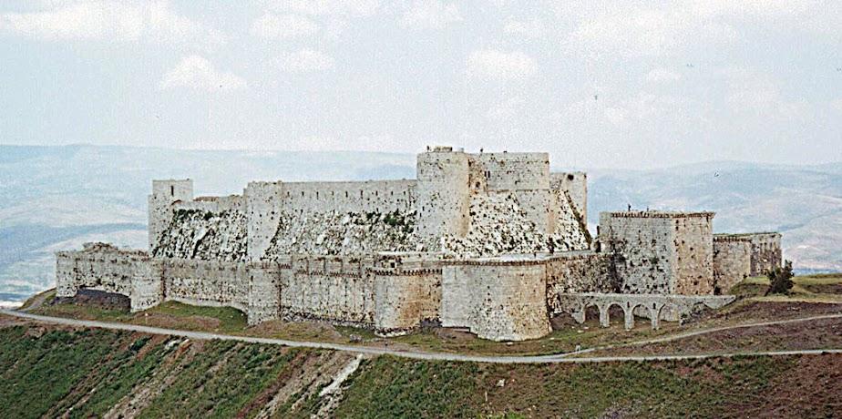Crack des Chevaliers, fortaleza cruzada, hoje na Síria