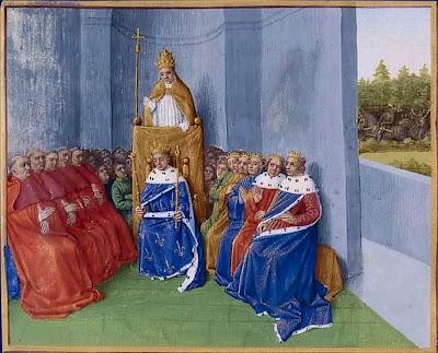 Beato Urbano II prega a primeira Cruzada