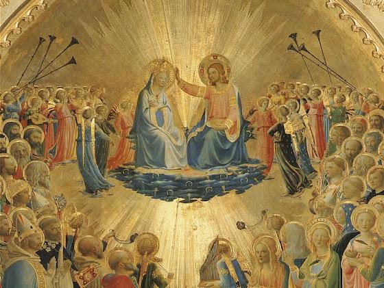 Coroação de Nossa Senhora como Rainha do Céu e da Terra, Beato Angelico
