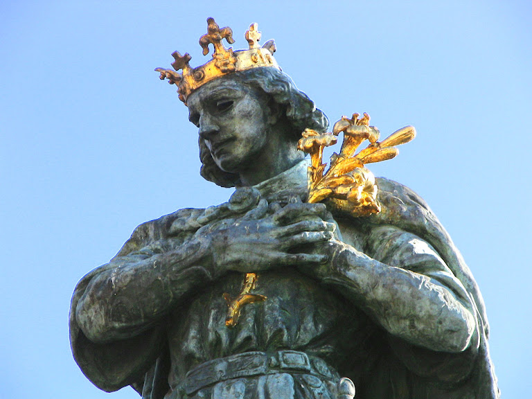 Santo Américo (1007-1031), príncipe modelo de pureza, filho de Santo Estevão.