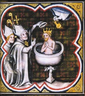 Batismo de Clóvis marca a conversão da França