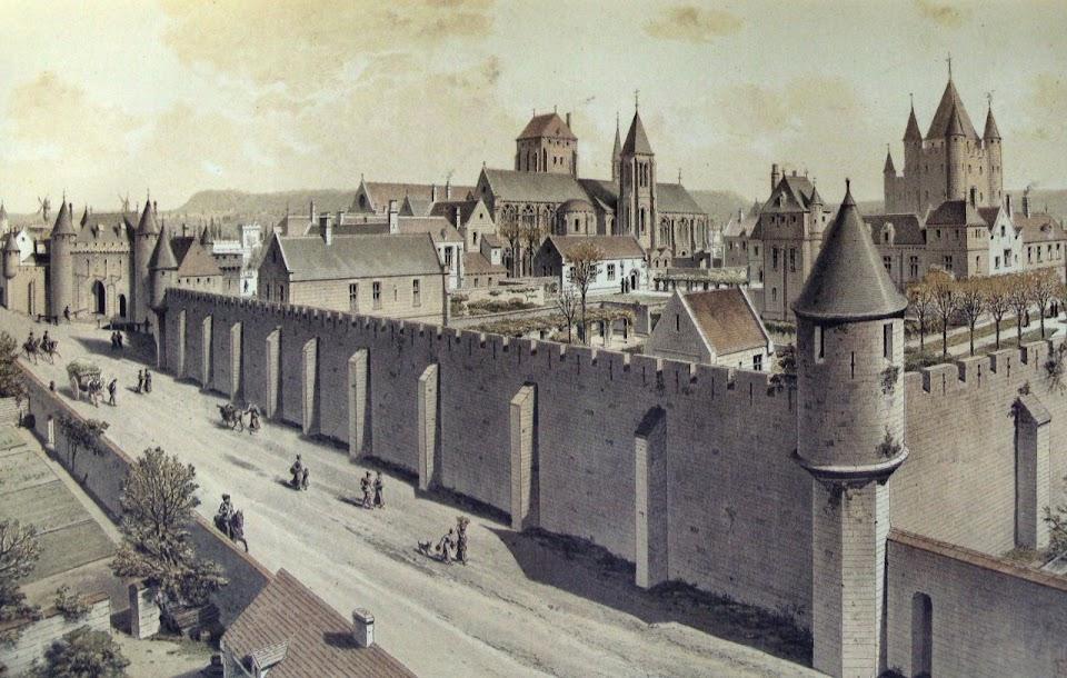 Casa mãe dos Templários, Paris 1450