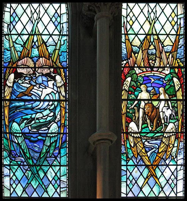 Criação, catedral de Saint Edmundsbury, Inglaterra