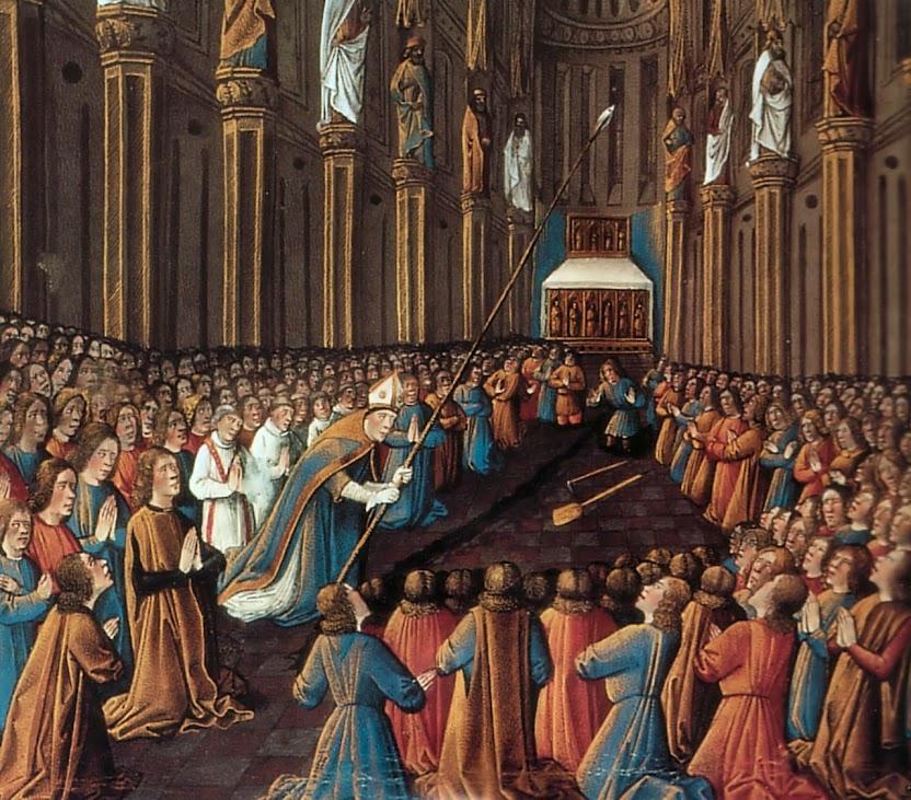 Descoberta da Sagrada Lança na catedral de Antioquia