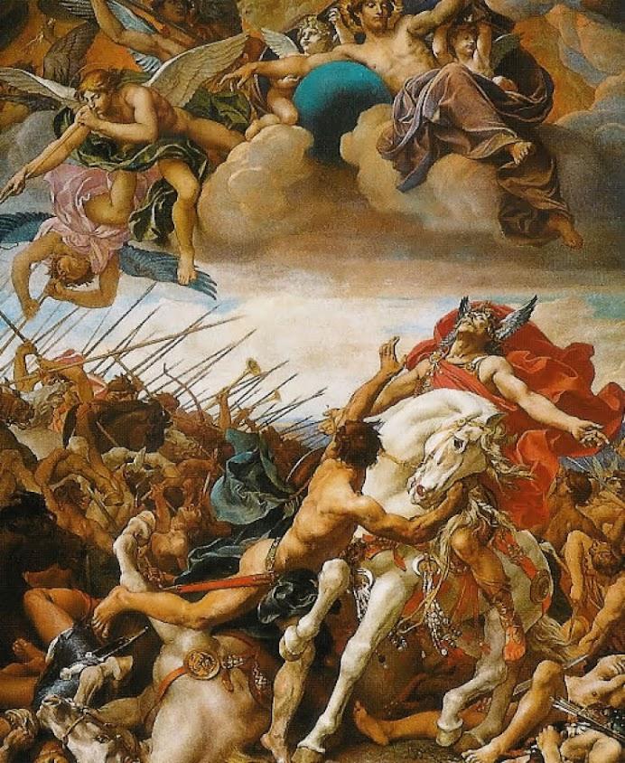 O milagre da conversão do rei Clóvis na batalha de Tolbiac
