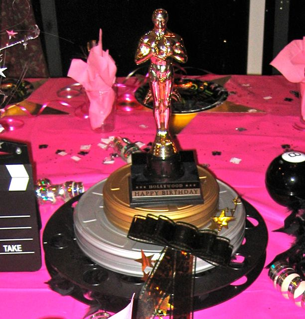 Restaurant Reservation: Hollywood Theme Party Ideas