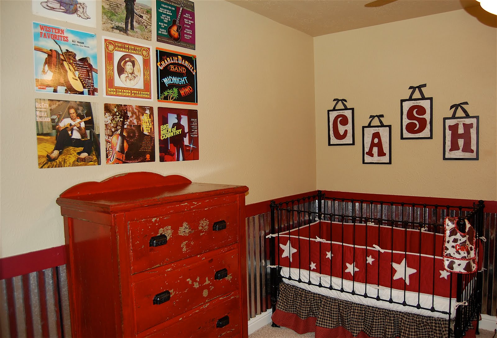 Vintage Music Theme Boys Baby Nursery