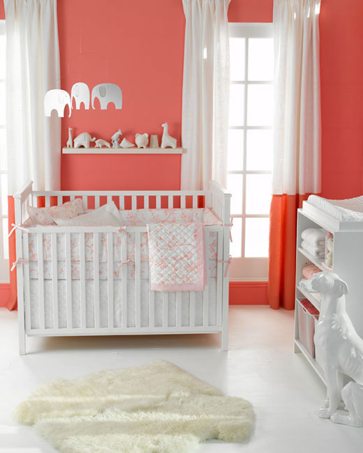 Diary Lifestyles The Color Coral Nurseries Amp Girl S Rooms