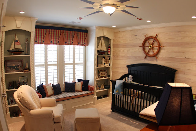 Sophisticated Modern Nautical Nursery: Cool Boy Nursery Themes A Little Eclectic?